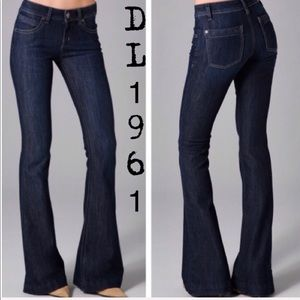 DL1961 Joy High Rise Flare Jeans Women's 28